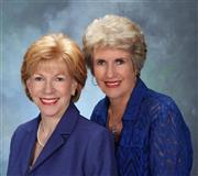 Kathy and Gloria