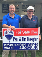 Paul and Tim Meagher